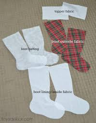 Christmas Stocking Decorations Diy Christmas Stockings Christmas Fabric Handmade Stockings
