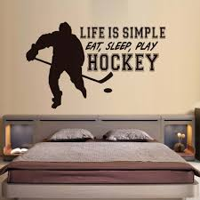simple furniture promotion shop for promotional simple furniture dctop life is simple eat sleep play hockey wall stickers home decor living room wall decorative art murals pvc quotes wall decor