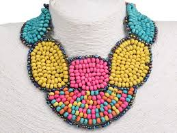 beaded collar necklace jewelry images How to make a beaded collar necklace JPG