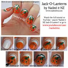 nailaween nail art challenge pumpkin nail art polish groupie
