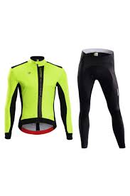 windproof cycling jacket monton winter thermal fleece fluorescent yellow windproof cycling