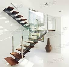 U Stairs Design Precast U Shape Indoor Stainless Steel Glass Stairs Design View