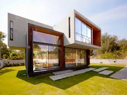 Flat Roof Modern House Ideas About Small Modern House Plans Image On Marvellous Small
