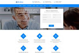 consulting and finance wordpress themes wp daddy