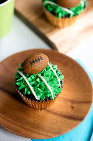 football cupcakes easy superbowl football cupcakes a side of sweet