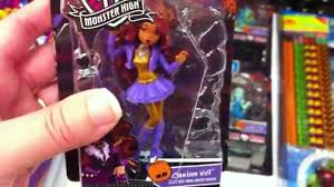 monster high halloween dolls monster high mini halloween figures at target youtube