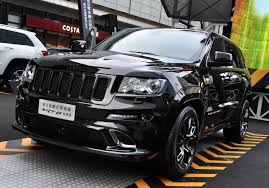 jeep grand cherokee 2017 blacked out jeep grand cherokee srt8 black edition launched in china