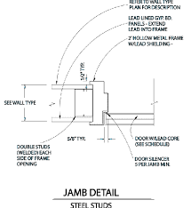 Window Sill Detail Cad Cad Drawings For Radiation Shielding Products