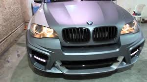 Bmw X5 Grey - bmw x5 g power typhoon wrapped in matte grey silver by dbx youtube