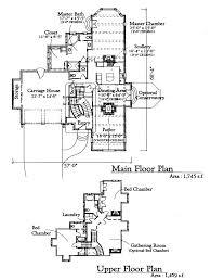 storybook cottage floor plans