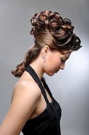 Hochsteckfrisurenen Lockige Haare by Halbe Hochsteckfrisur Hochsteckfrisuren Für Lange Und