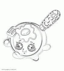 coloring pages of shopkins small fry pan