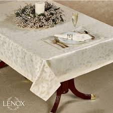 lenox shimmer table linens