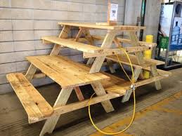 Build A Heavy Duty Picnic Table by How To Build A Picnic Table