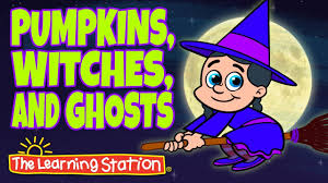 pumpkins witches and ghosts halloween songs for kids popular