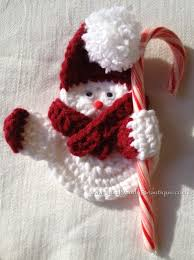 crocheted snowman ornament buy at www justdandybeautique