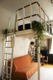 Loft Bed For Studio Apartment by Loft Beds Nyc Loft Bed In Studio Apartment Theapartment Best