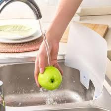 Kitchen Sink Splash Water Board Guard Vegetable Dish Washing - Kitchen sink splash guard
