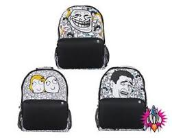Meme Bag - pixie crew pixel meme collection backpack rucksack school bag 200