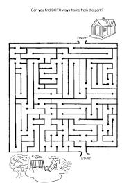 printable hard maze games hard printable games for kids shop partiko com toys board games