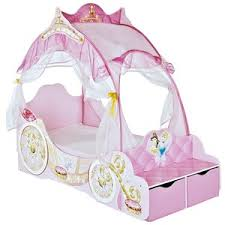 Disney Princess Toddler Bed With Canopy Disney Princess Deluxe Carriage Toddler Bed Polyvore