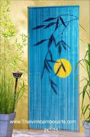 Painted Bamboo Curtains Bamboo Curtain Bamboo Painting Buy Bamboo Arts Product On