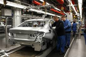 bmw factory assembly line vehicle production