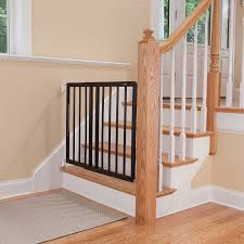 Best Stair Gate For Banisters Amazon Com Safety 1st Top Of Stairs Frameless Décor Swing Gate