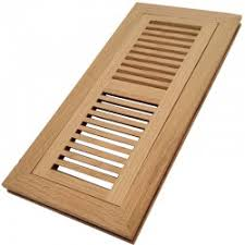 solid oak wood vent covers floor register vent flush mount with