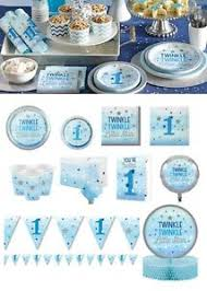 twinkle twinkle party supplies one tableware boy 1st birthday party supplies blue