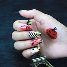 3d nail art halloween image collections nail art designs