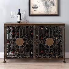 Metal Bar Cabinet Wine Enthusiast Companies Bar Cabinet U0026 Reviews Wayfair