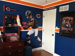 my son u0027s chicago bears bedroom home decor pinterest chicago