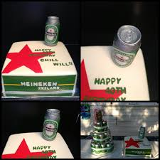heineken beer cake heineken beer can cake cakes for men pinterest heineken