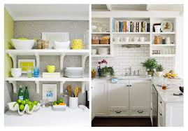 open shelf kitchen cabinets the benefits you can get from open
