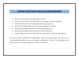 sample resume for office administration job office assistant resume sample pdf