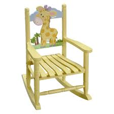 Kid Rocking Chair Fantasy Fields Rocking Chair Giraffe Hayneedle