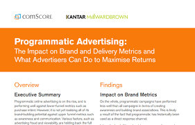 programmatic advertising the impact on brand and delivery metrics
