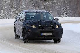 2018 mitsubishi eclipse cross spotted during winter testing