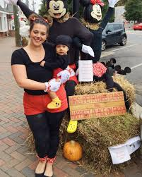 halloween mommy and meween costume mickey minnie mom son ideas