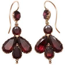 garnet earrings best 25 garnet earrings ideas on jewelry