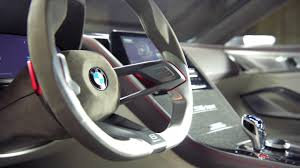 interior design of new bmw 8 series concept youtube
