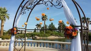 wedding arch las vegas enchanted florist las vegas nv wedding florist