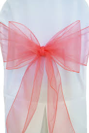 organza sashes wedding chair covers in dc md va organza sashes