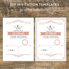designs lovely diy wedding invitations templates uk with hd