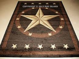 Cheap Area Rugs Free Shipping Western Brown Black Area Rug Free Shipping Ebay