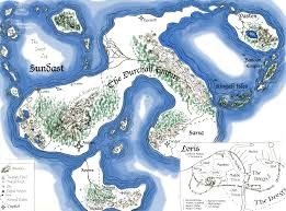 Ithaca Map A Regional Map Of Sundast U2013 The Sundast Sagas Online