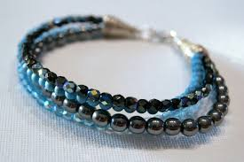 beading wire bracelet images How to make a bracelet with twisted bead strands jpg