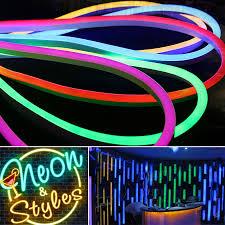 edge lighting change color 12v 24v 110v 220v high grade single color rgb color changing led