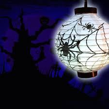 halloween paper lanterns amazon com everkid halloween decorations paper lanterns with led